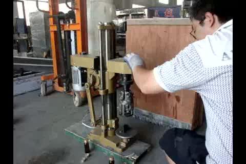 SF-60 semi automatic ropp cap glass bottle capping machine