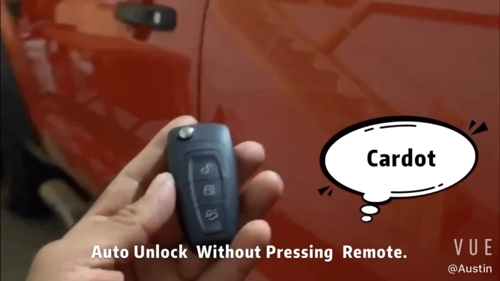 Cardot स्मार्ट निष्क्रिय बिना चाबी प्रविष्टि शुरू रोक इंजन रिमोट स्टार्टर कार अलार्म