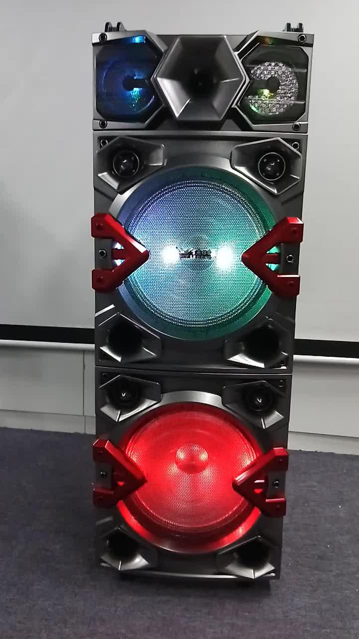 Esterno portatile trolley speaker DJ del partito altoparlante 12 pollice nuovo prodotto
