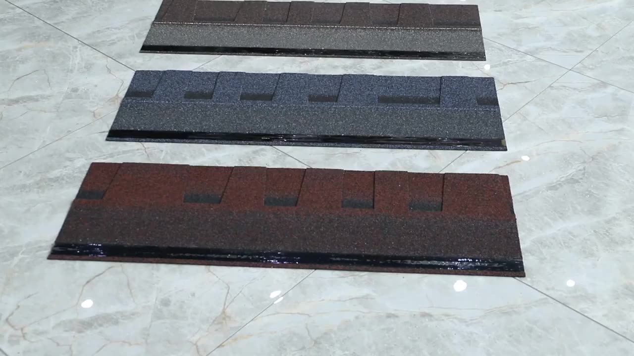 High quality philippines laminated  asphalt roofing shingles roof tiles price