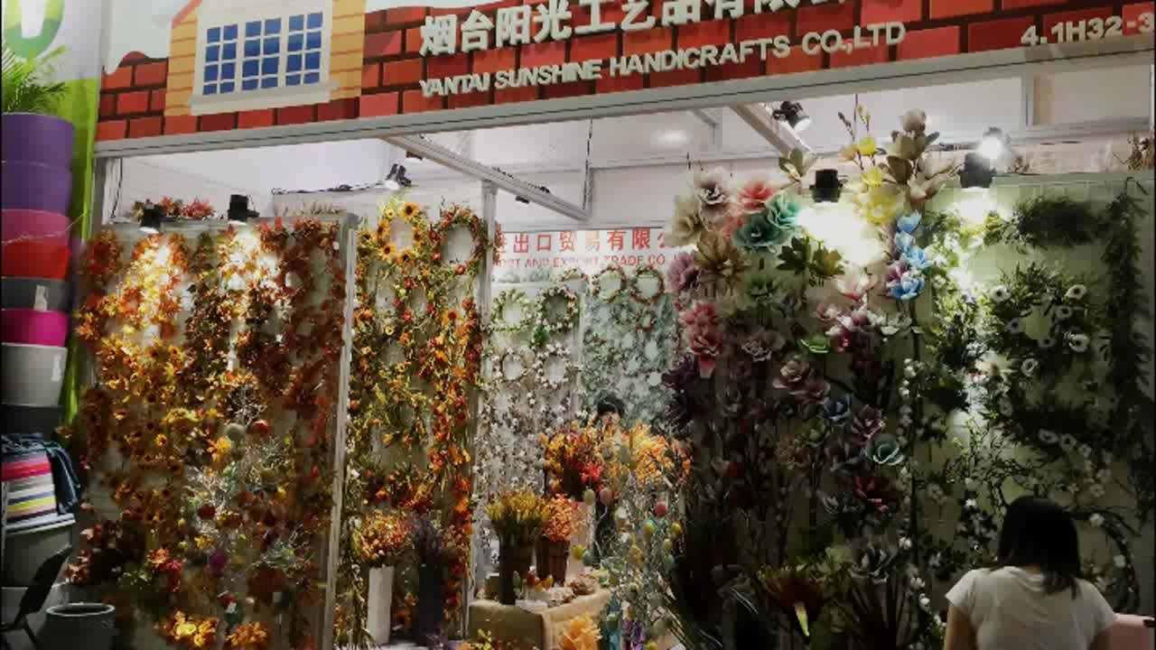 New arrival canton fair room decoration artificial paper dried new arrival canton fair room decoration artificial paper dried flower with leaves cheap wholesale artificial flowers izmirmasajfo