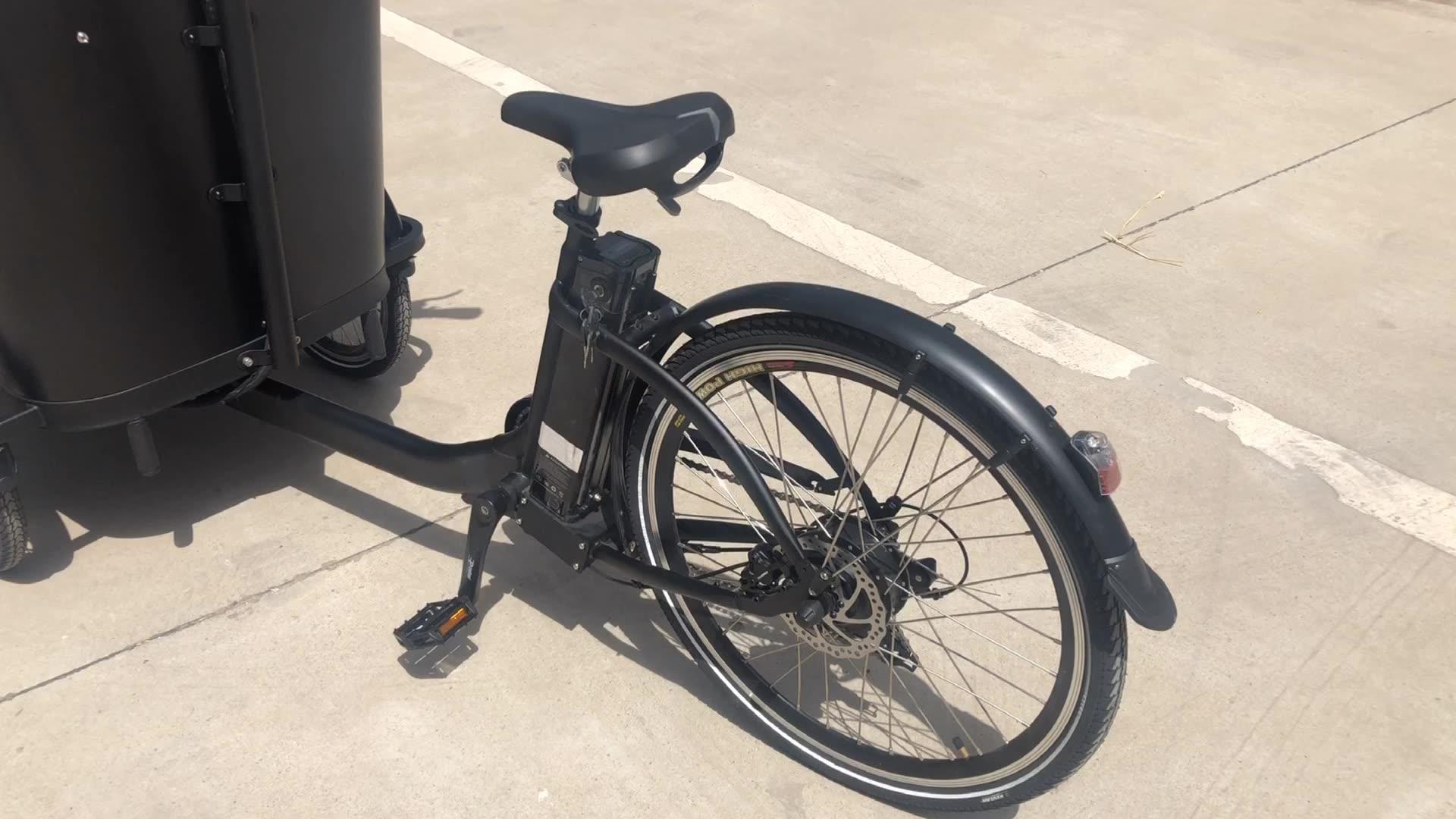 Diskon Sepeda Kargo 3 Roda Elektrik, Bingkai Sepeda Aluminium