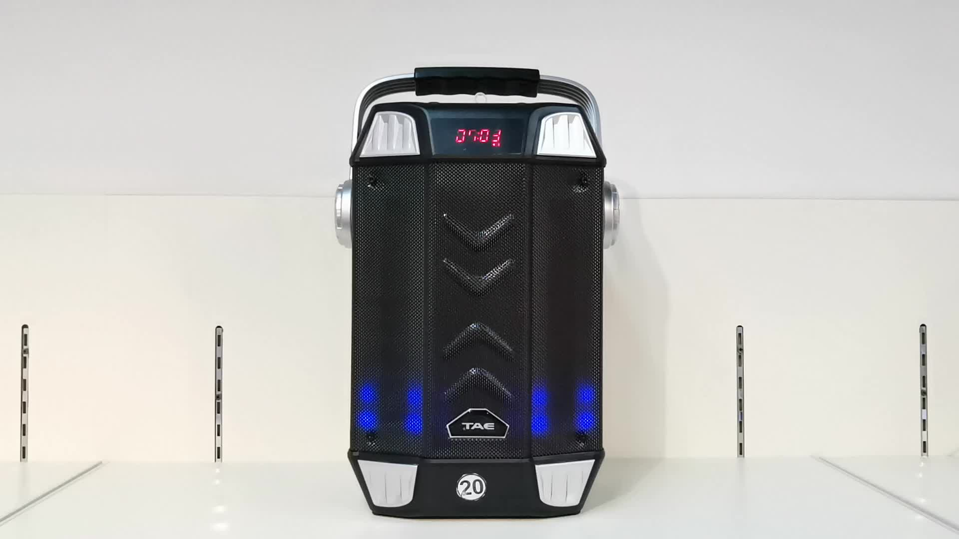 TS-111 Factory price cheap Outdoor Portable Speaker with USB/FM/SD card/BT/LED Display/Remote Control