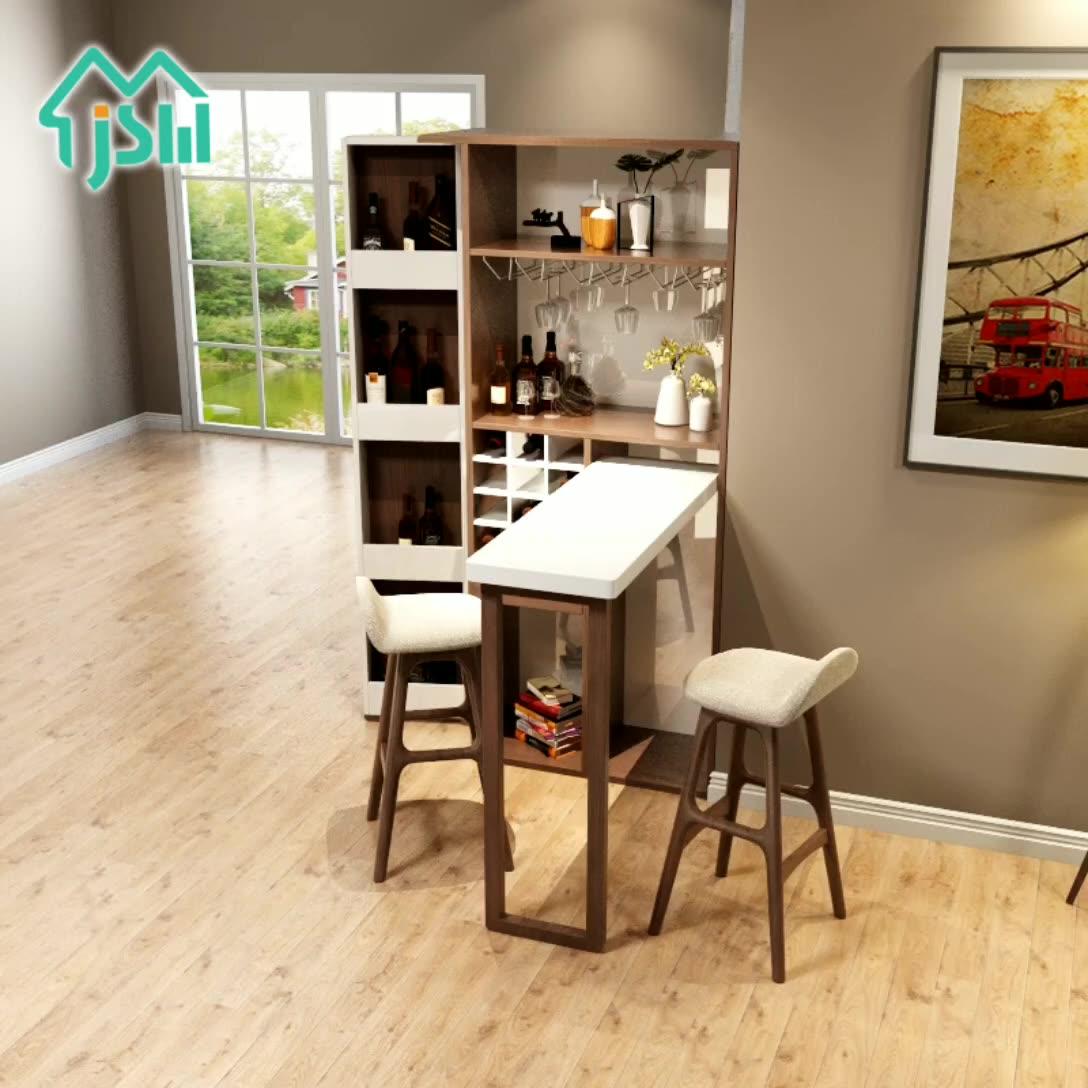 도매 큰 크기 와인 스토리지 홈 가구 접이식 테이블 거실