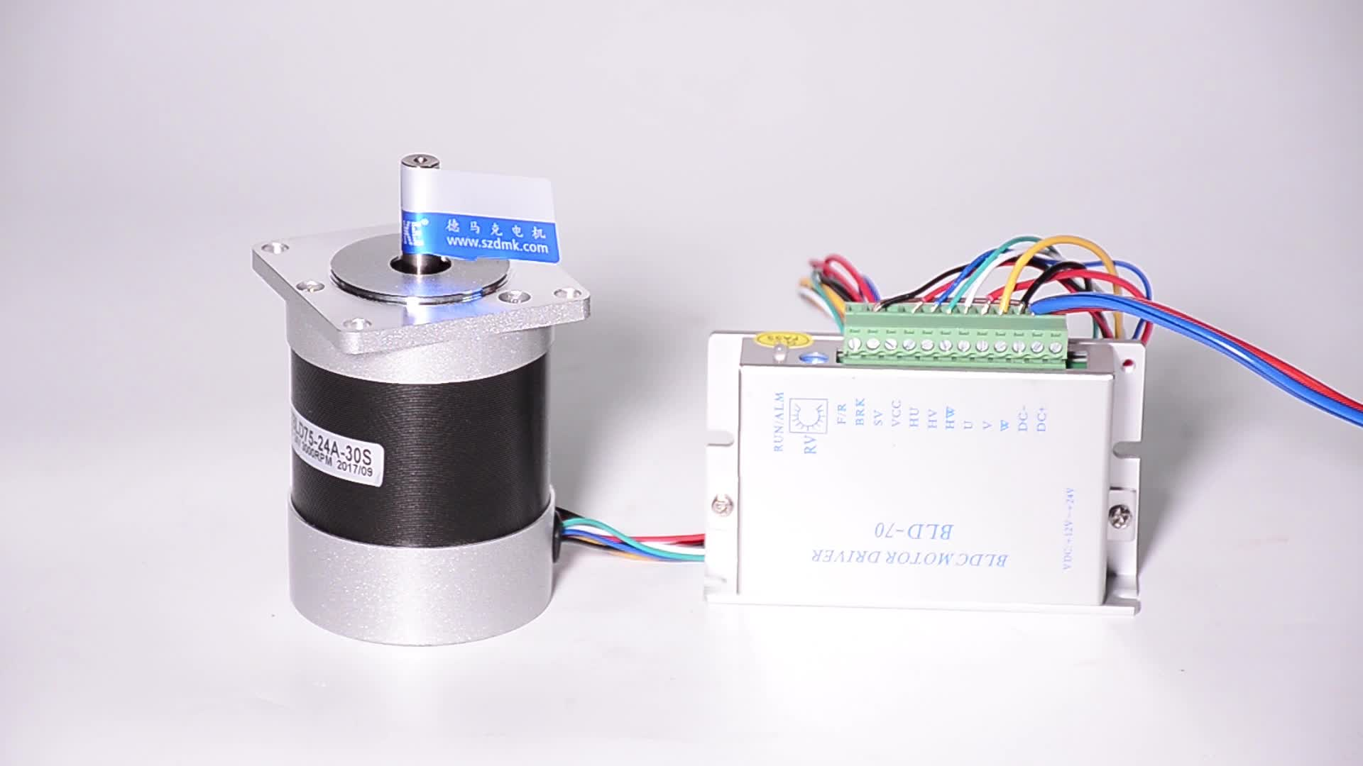36v 100w high torque brushless dc motor 3000RPM