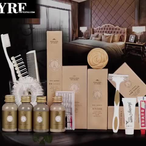 Brand Luxury Hotel Shampoo Set