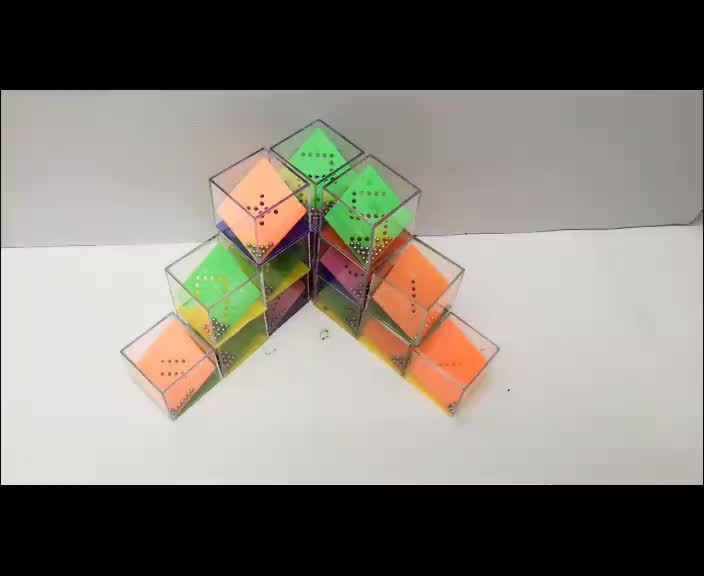 Most popular early education digital nicer magic cube toys