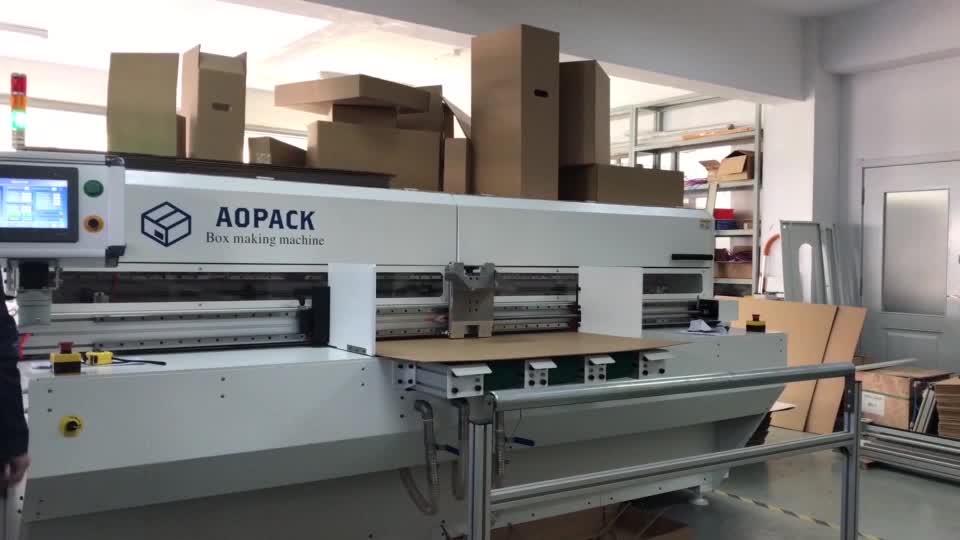 BM2508 Yüksek Kar kutu makinesi Makinesi, Yüksek Kaliteli oluklu kısa çalışma karton kutu yapma makinesi