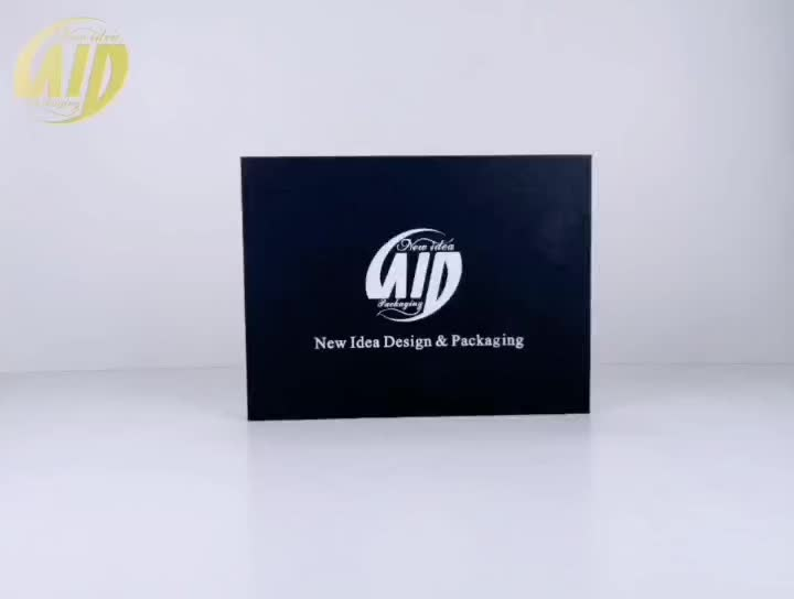 Innovative design custom paper packaging box with magnet