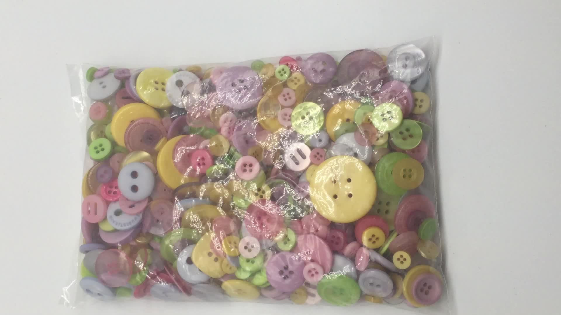 모듬 크기 파스텔 컬러 플라스틱 스터드 스냅 청바지 바느질 수지 Diy 멋진 버튼 어린이 장난감 교육 장난감 어린이 선물