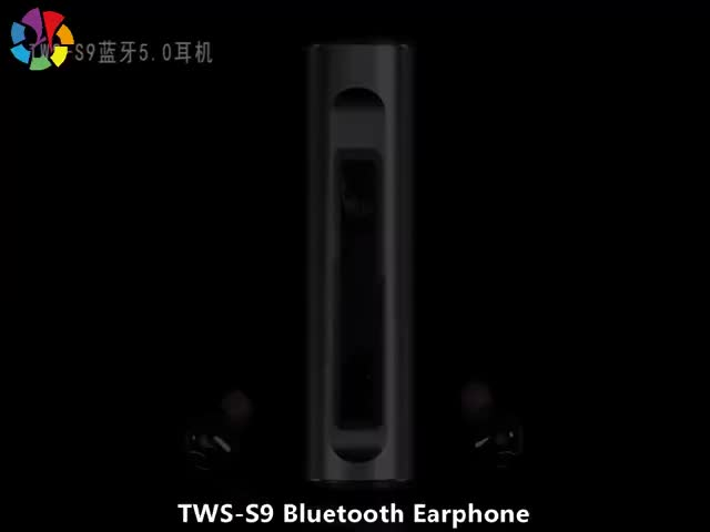 Tws Automatic Pairing Grey/Red/Blue Bluetooth Wireless Earphone With Microphone