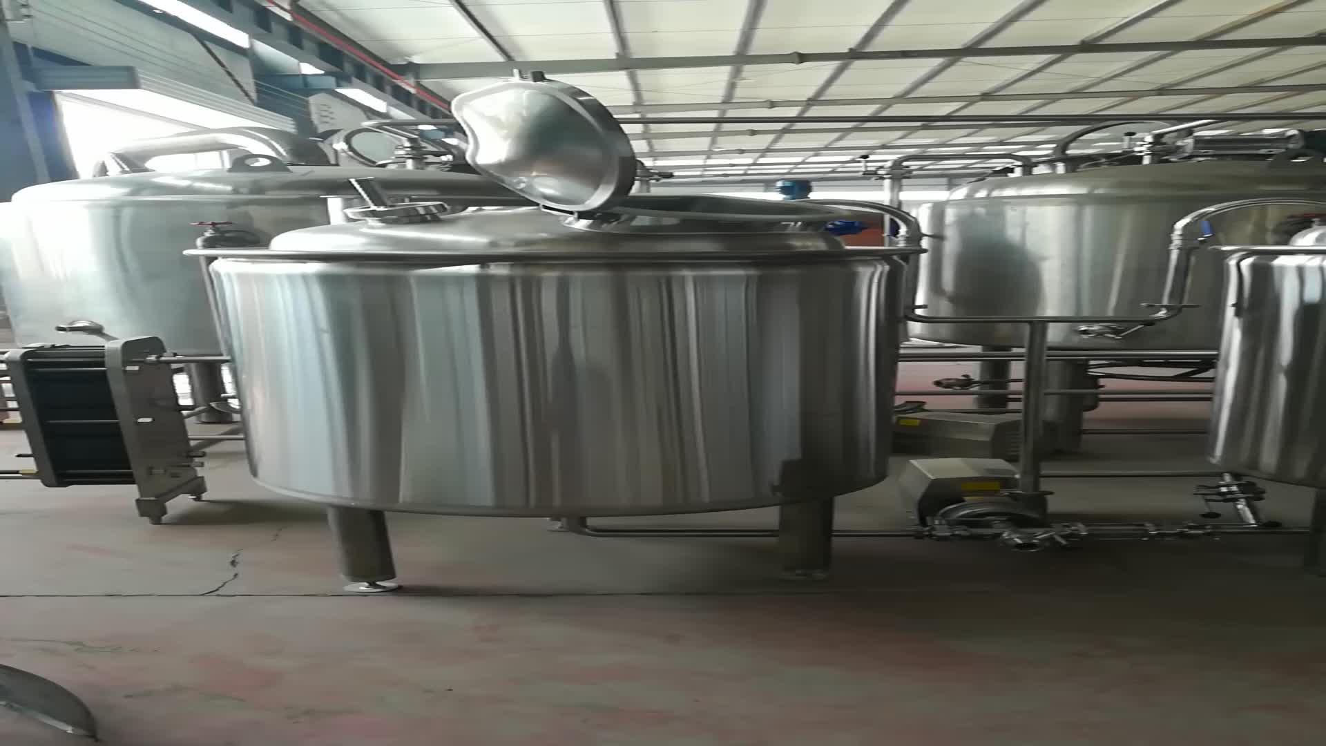 आर्गन आर्क वेल्डिंग किण्वन प्रणाली के लिए बीयर उपकरण