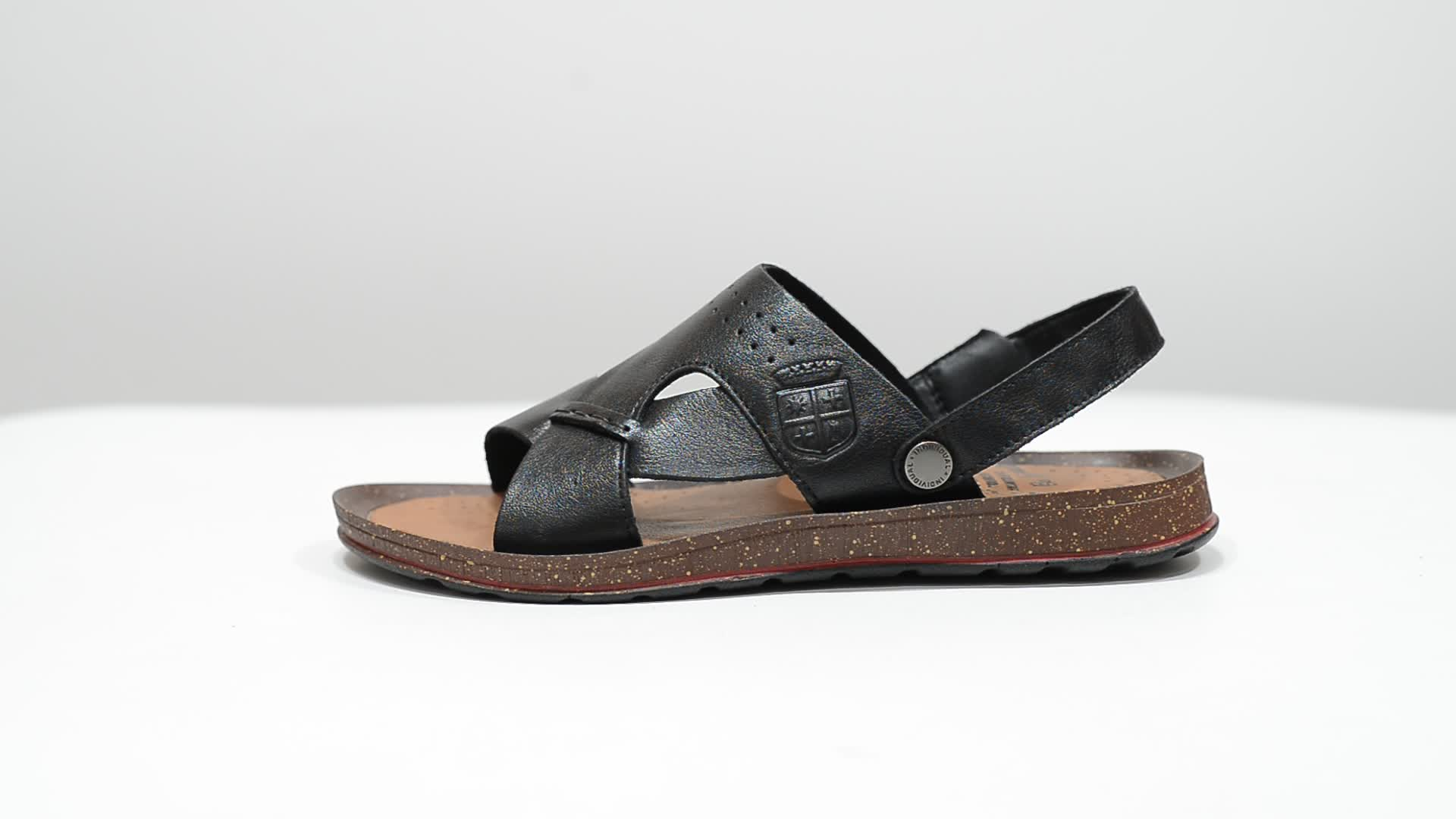 High quality mens genuine leather sandals, L991 chp