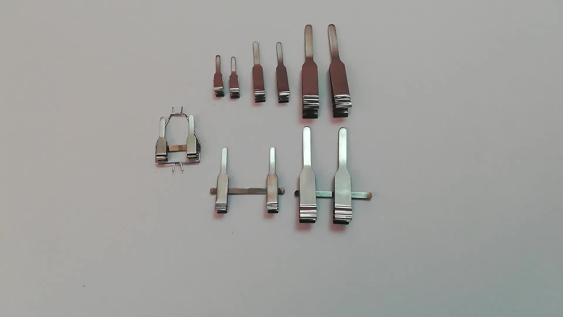 Clinical Micro Acland Clamps / Micro Vessel Clamps, Vascular