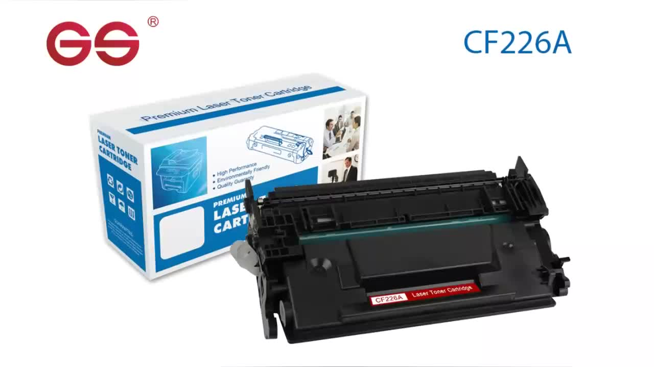 GS marca Top quality toner 26A CF226 CF226A cartuccia compatibile per HP