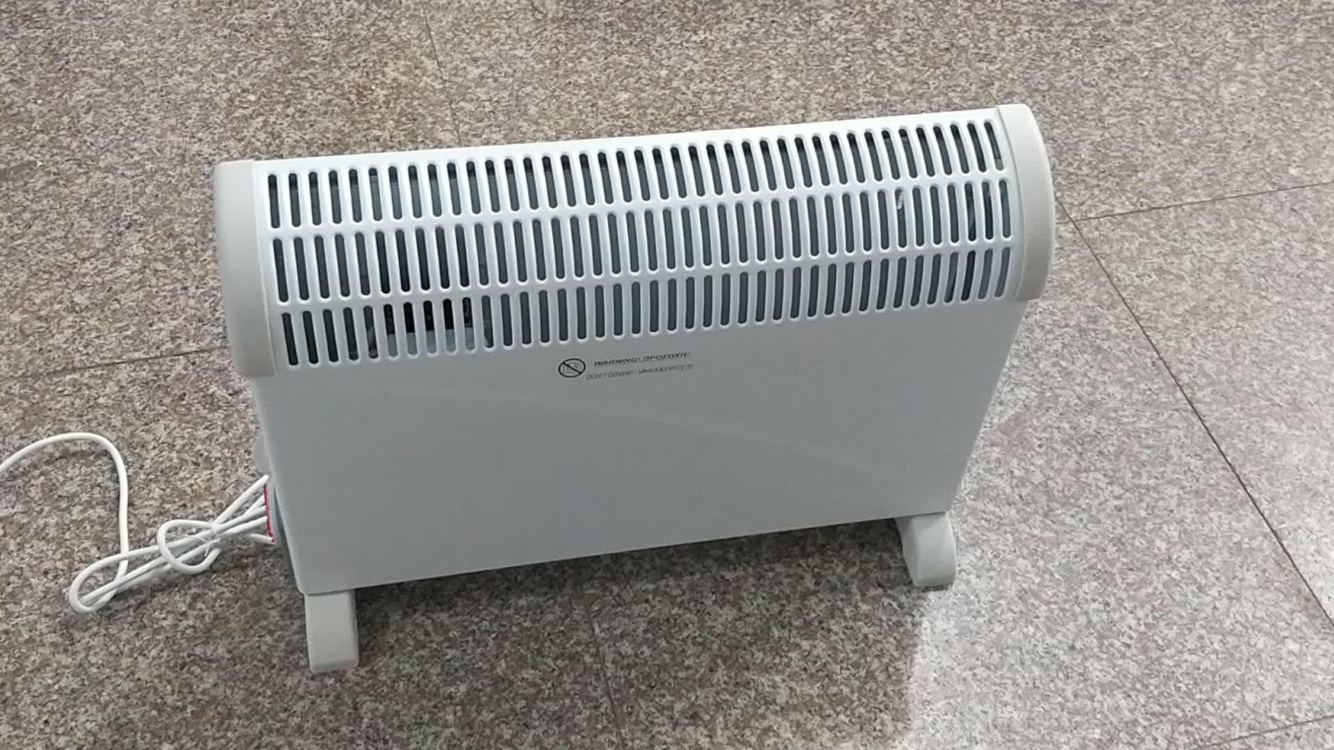जी एस/सीई/RoHS/ईआरपी अनुमोदित इलेक्ट्रिक Convector हीटर 2000 W
