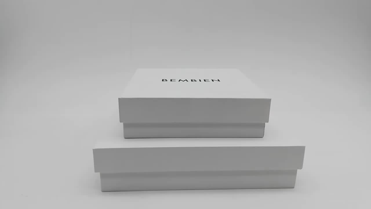 High end empty custom small luxury cardboard skincare box paper gift packaging cosmetic box