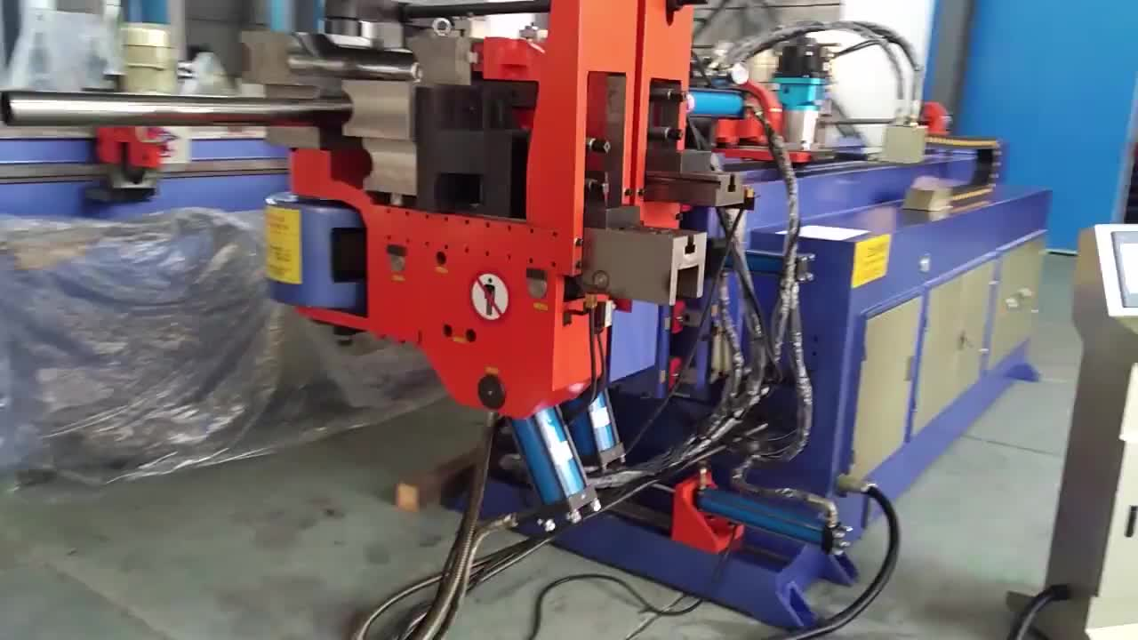 DW89NC Overseas service stainless steel machine spiral pipe bender