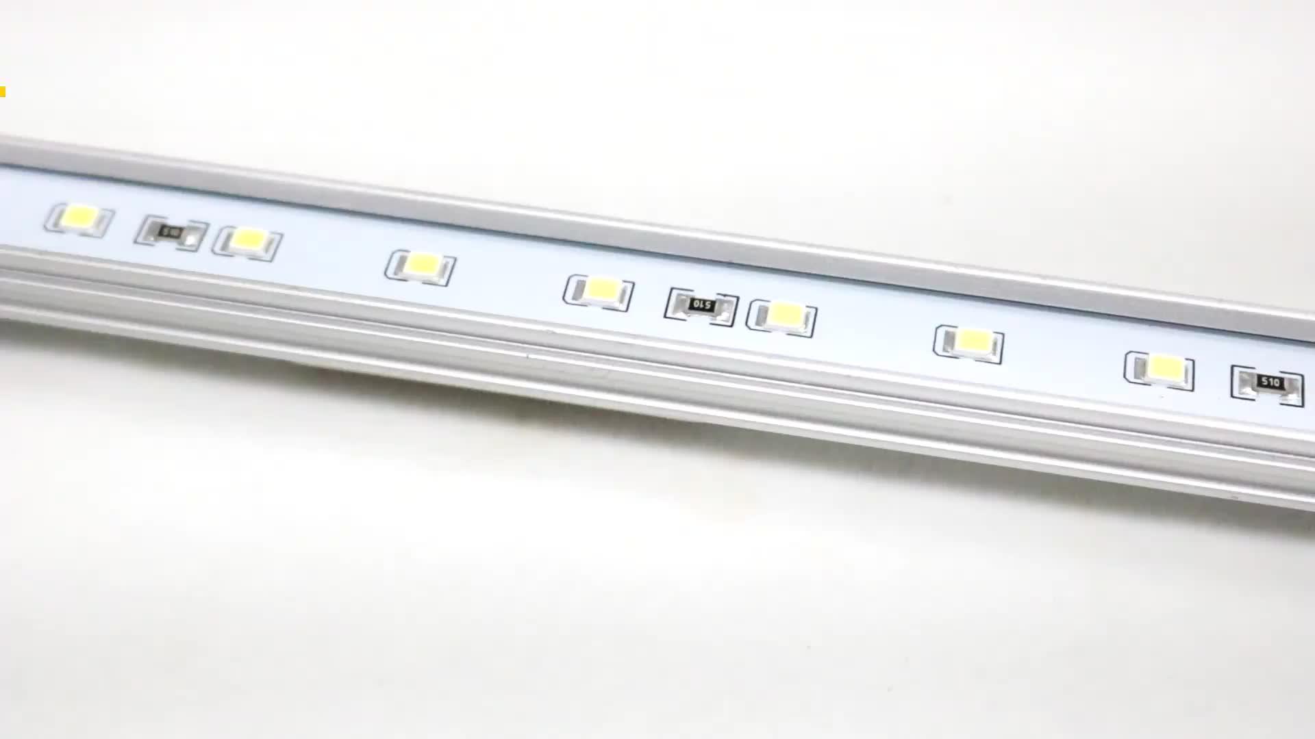 DC12V SMD2835 enkele kleur aluminium led bar licht met magneet