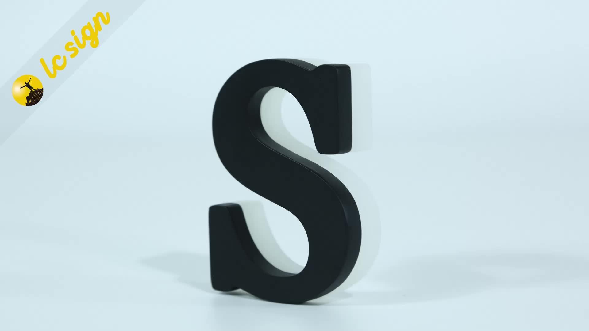 Aangepaste Acryl Kanaal Brief 3d Led Display Bord Brief Teken