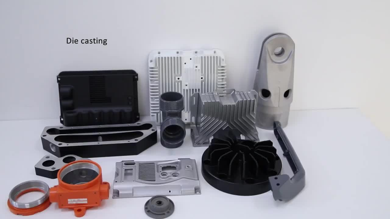 OEM Customized Aluminum Die Casting Parts For Medical Instruments