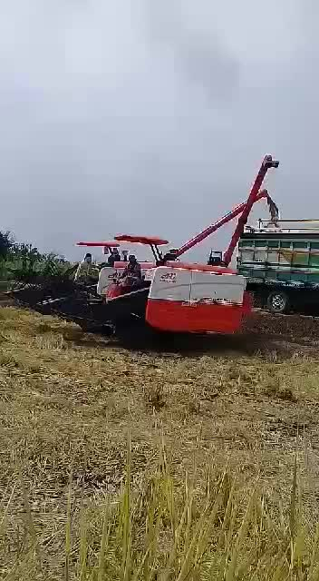 2019 AGRIUNION ยาง TRACK HARVESTER