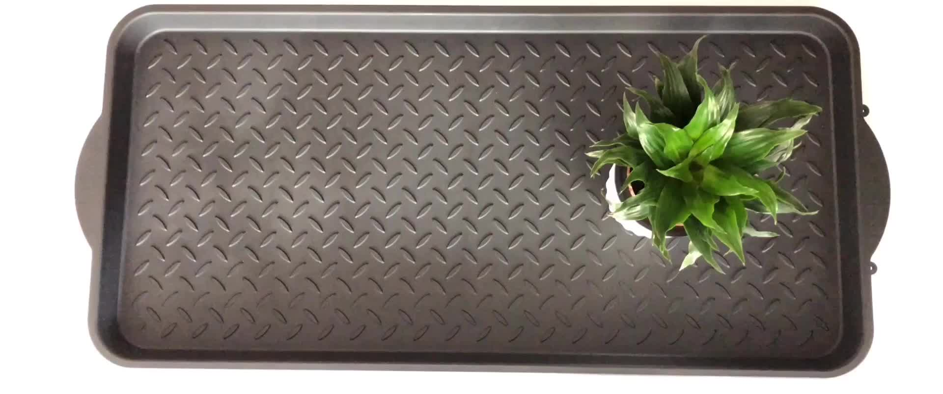 Premium Eco Friendly Polymer Tray for Your Floor Protection Boot Tray