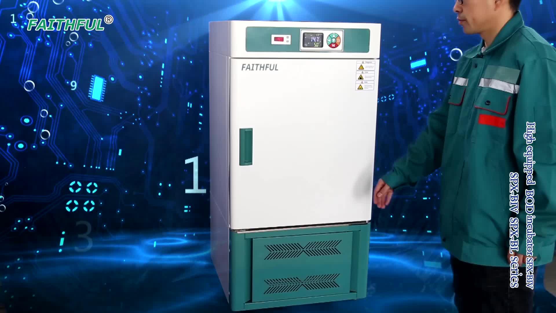 Hohe qualität labor thermo digitale präzision kühlung inkubator/automatische inkubator/kühl inkubator
