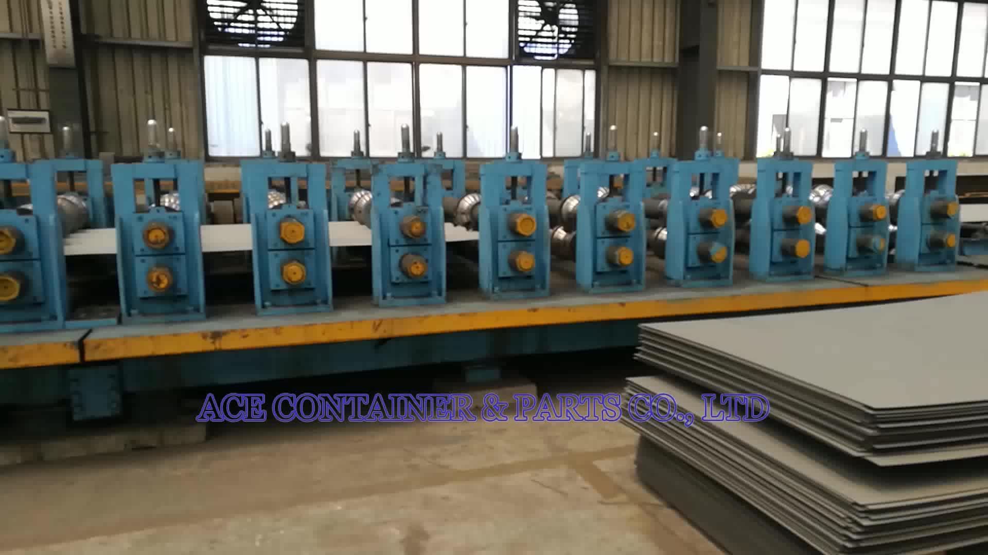 2.0 ミリメートル Corten 鋼側とフロントエンド容器壁パネル