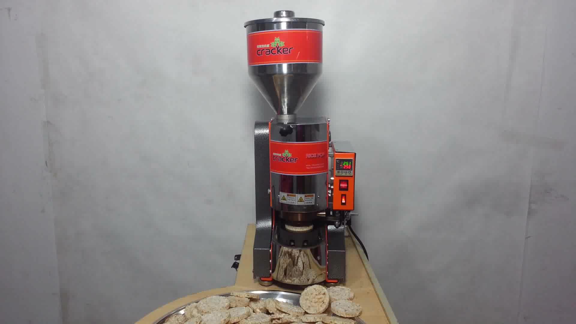 Natur Reis Cracker Maschine