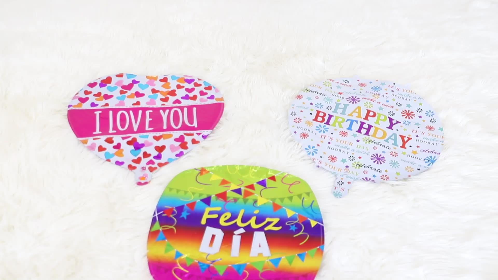 10Inch Hart Vorm Mini Folie Ballon Voor Bruiloft Decoratie Verjaardag Mini Folie Ballon Voor Kinderen Speelgoed