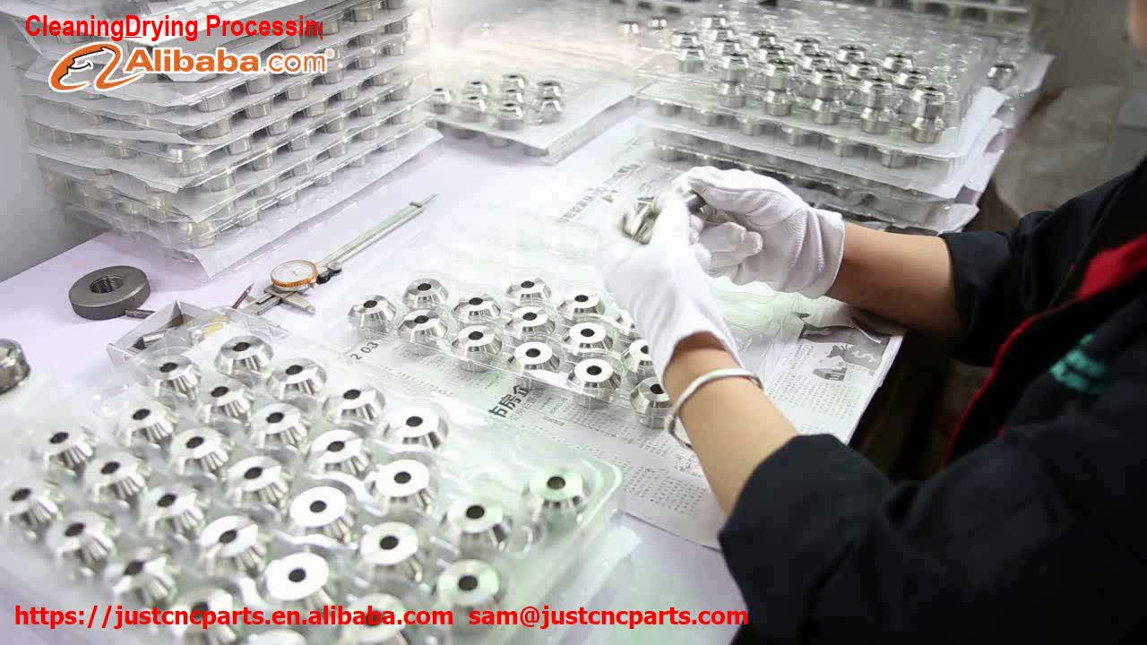 cleaning dring processing for OEM manufacturer Customized High Precision CNC Machining precision Aluminium 6061 7075 parts