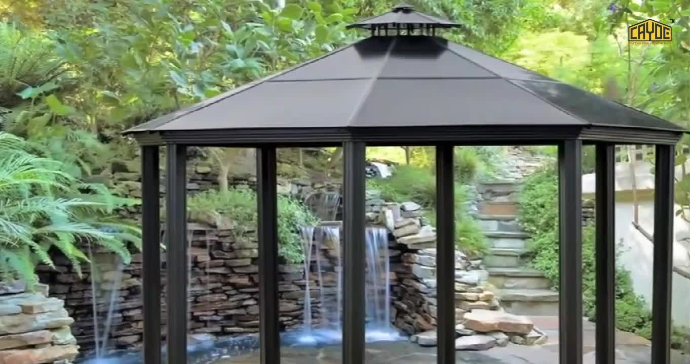 Outdoor high quality low price waterproof gazebo