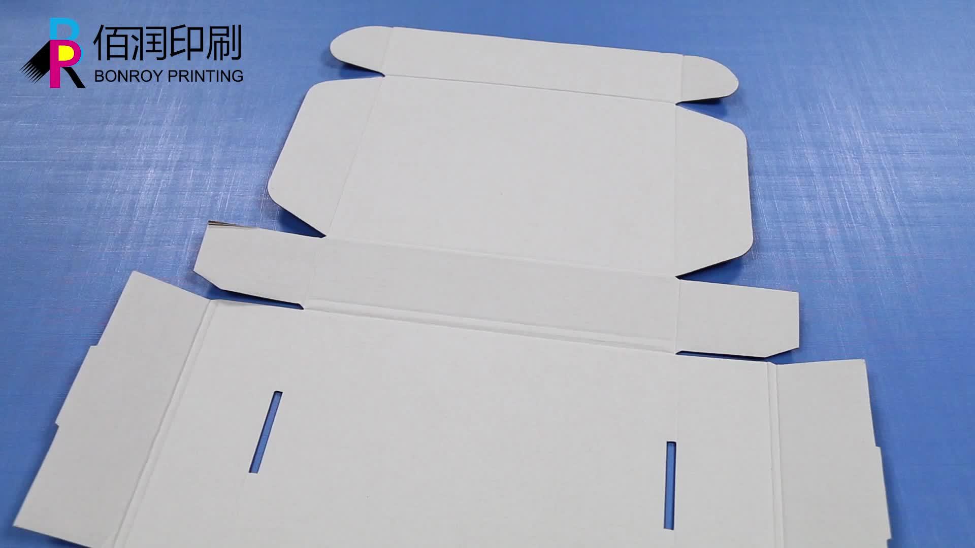 แฟนซีพิมพ์ลูกฟูกกล่องสำหรับ Work Home บรรจุผลิตภัณฑ์