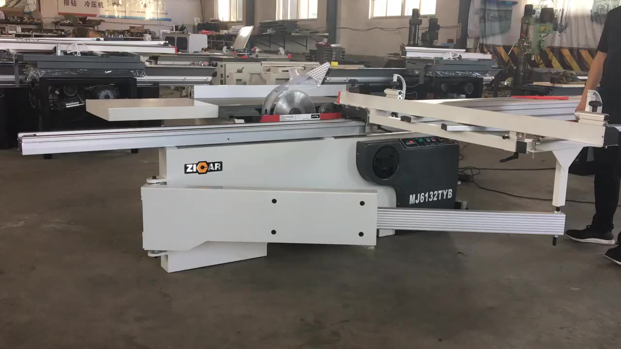 ZICAR MJ6132TYB Woodworking Sliding Table Saw Made In China