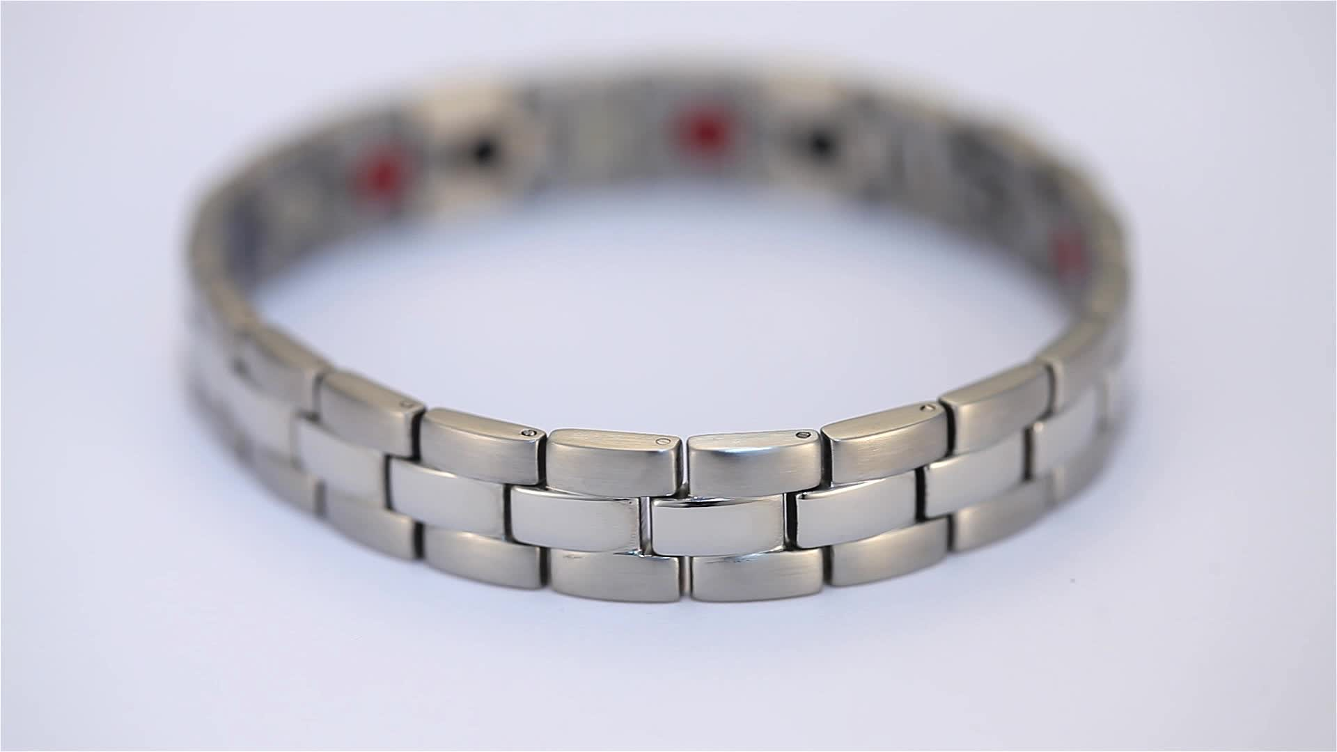RunBalance  1 Day Delivery stainless steel magnetic accessory bracelets