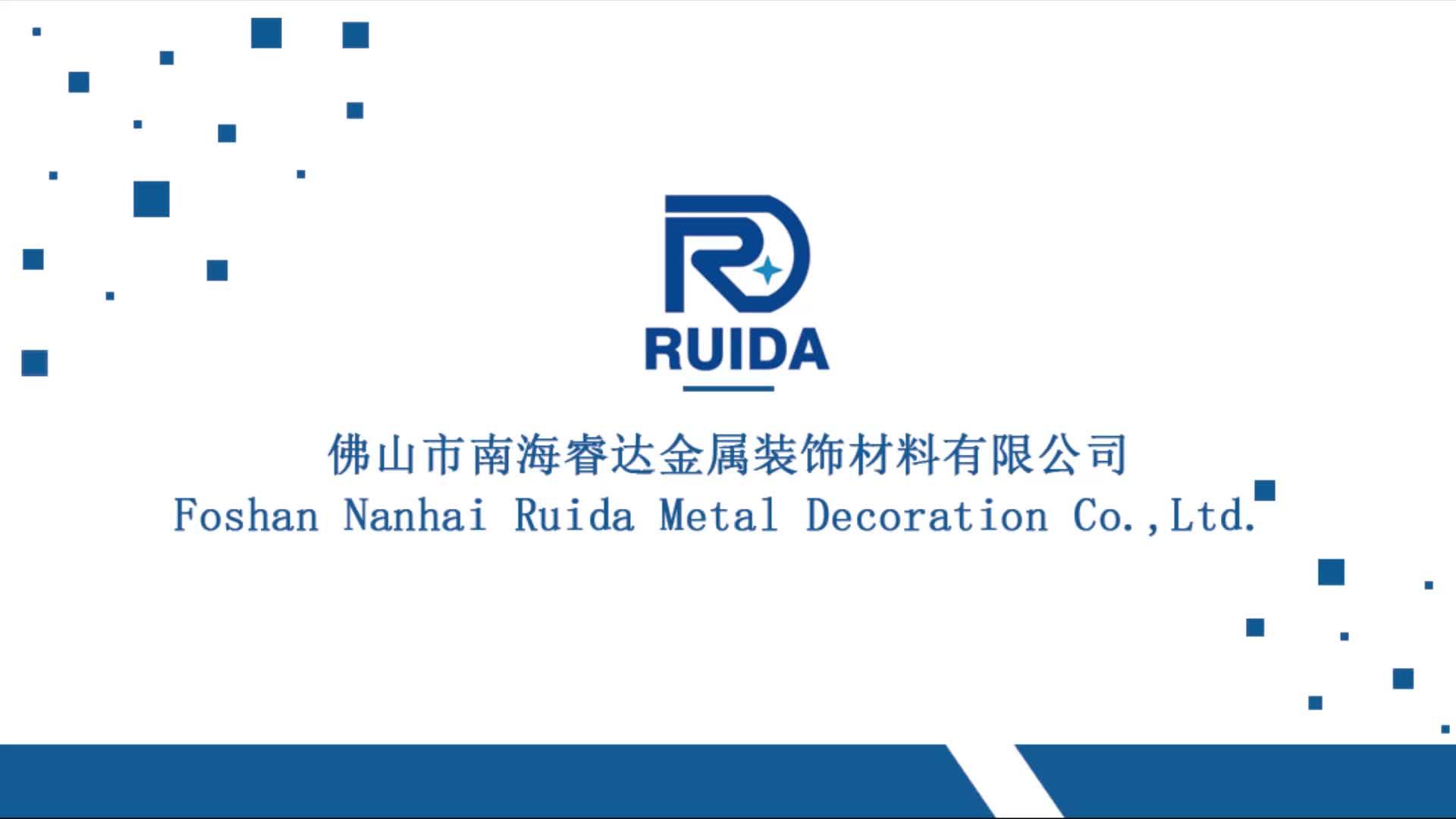 Wholesale Color Professor Ruida Aluminum Ceramic Tile Trim