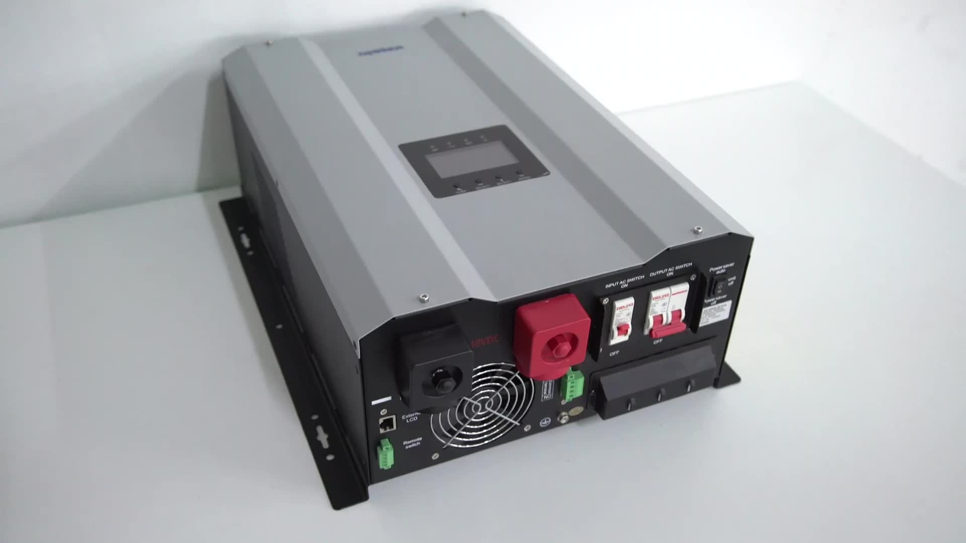 1KW 5KW 12KW Off Grid Split Hybrid Solar Inverter