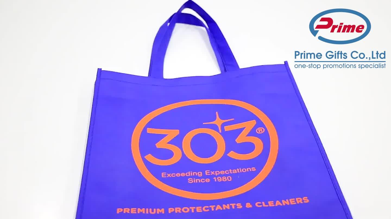 Customized Eco Friendly Tote Bag Non Woven Reusable Shopping Bag
