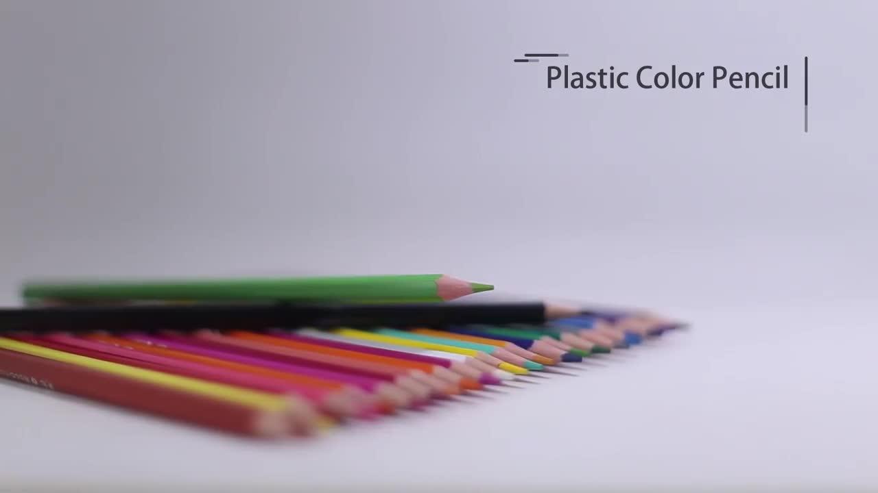 12pcs Jumbo Color Pencil Set For Students