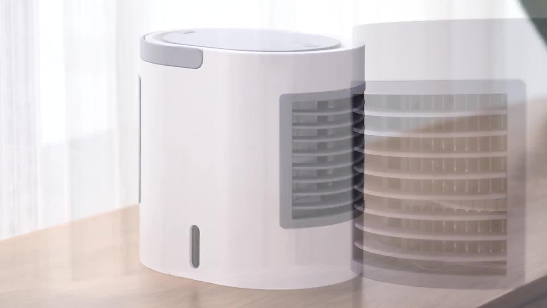 नई डिजाइन पोर्टेबल इलेक्ट्रिक बड़े पानी की क्षमता हवा कूलर कंडीशनर प्रशंसक