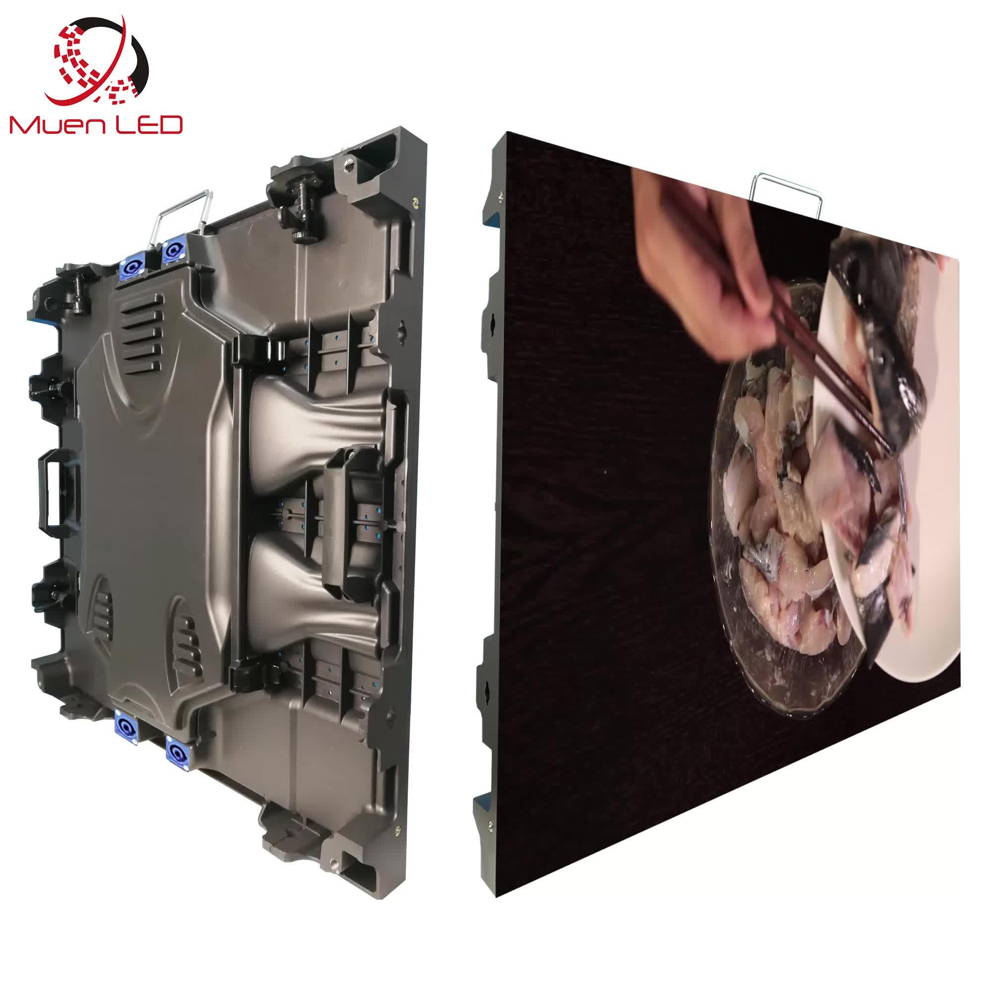 P10 outdoor rental led display 640 x 640mm