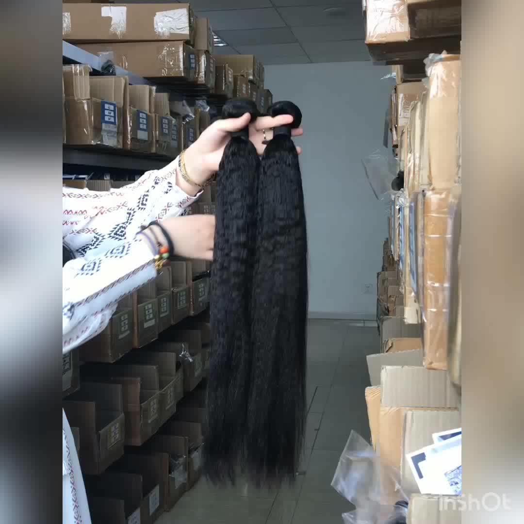 Amostra grátis de fábrica cabelo da vagina, equipamentos baratos birmaneses extensões de cabelo virgem, kinky reta tecer cabelo