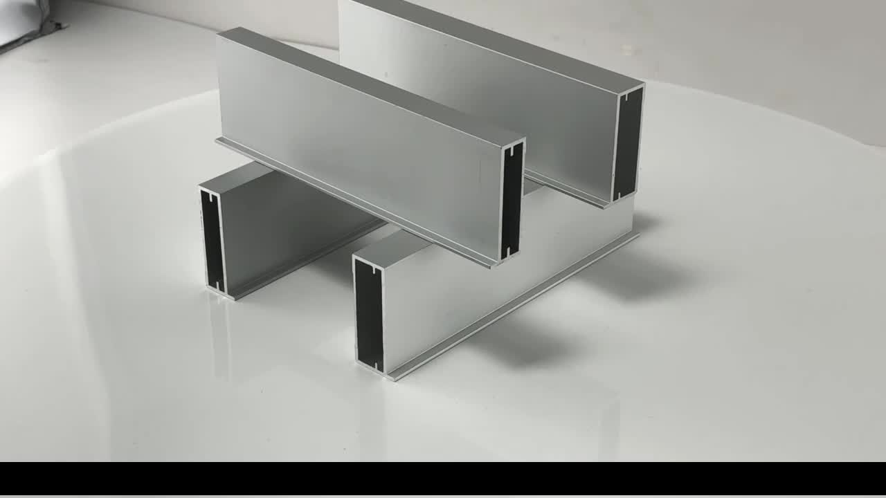 2019 price list for aluminum profile for kitchen cabinet,polishing furniture frame,golden aluminium kitchen cabinet doors