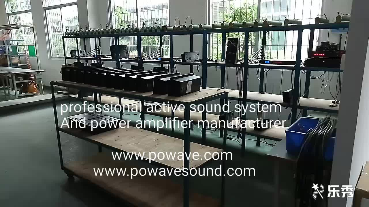 Professional digital power amplifier for concert and entertainment 600, 800 1000 watt amplifier and 1300 watt available