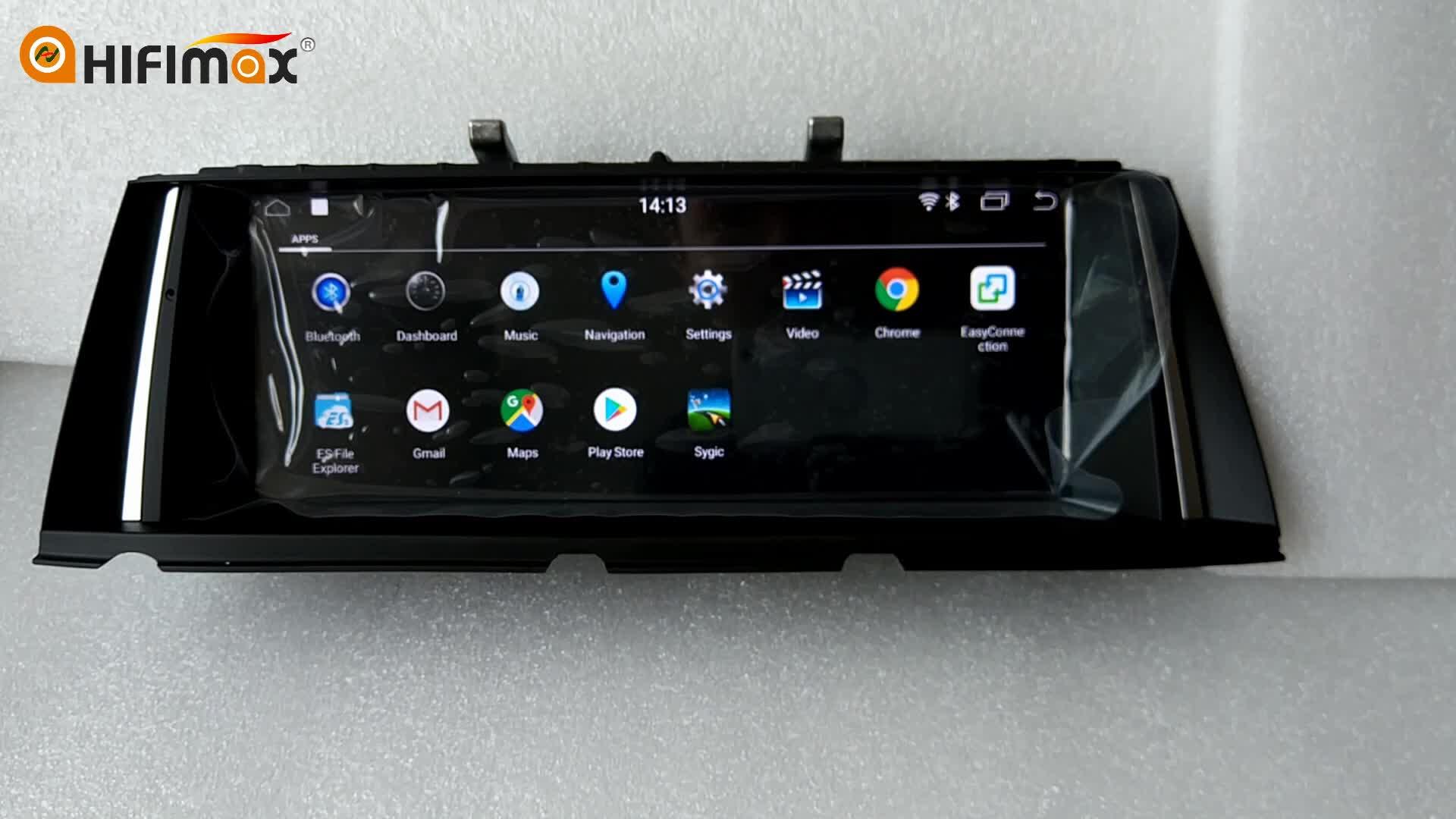 Hifimax 10.25 ''アンドロイド Autoradio bmw 7 シリーズ F01 F02-7 シリーズ F01 F02 ナビゲーション GPS ヘッドユニット