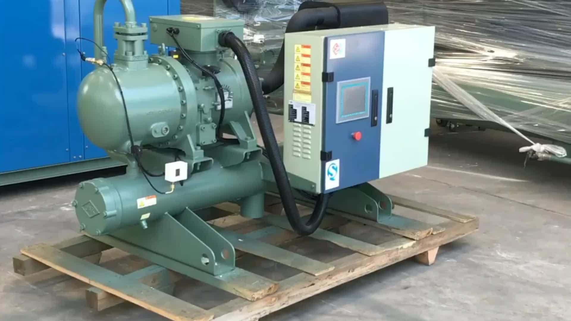 Enfriador industrial Scroll tipo abierto de 5 toneladas de agua enfriador de agua precio compresor de desplazamiento 3 ton enfriador de agua 5 hp enfriador de agua