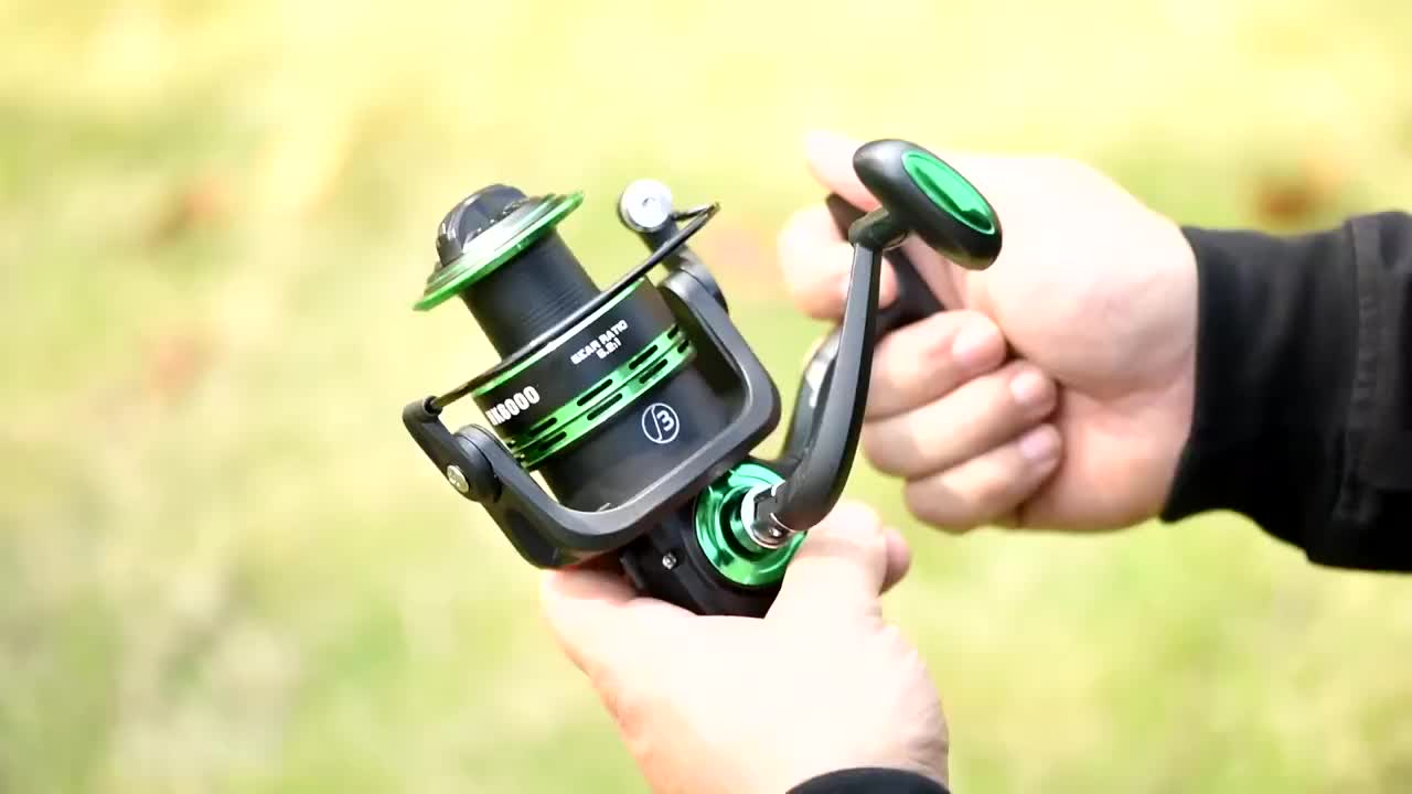 Amazon Two Cups Metal Handle Cheap Fishing Tackle Fishing Combo Saltwater Spinning Fishing Reel