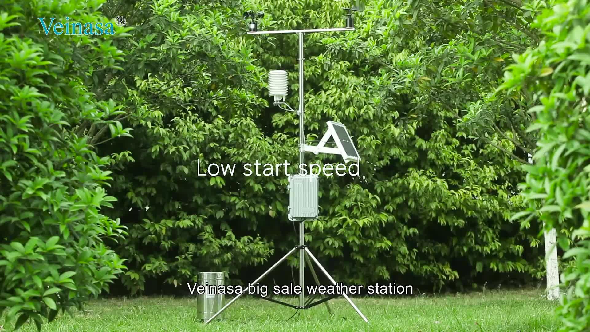 Veinasa-AWS005S Big Sale Digital Weather Station Gsm Professional Wifi Automatic Wireless Weather Station