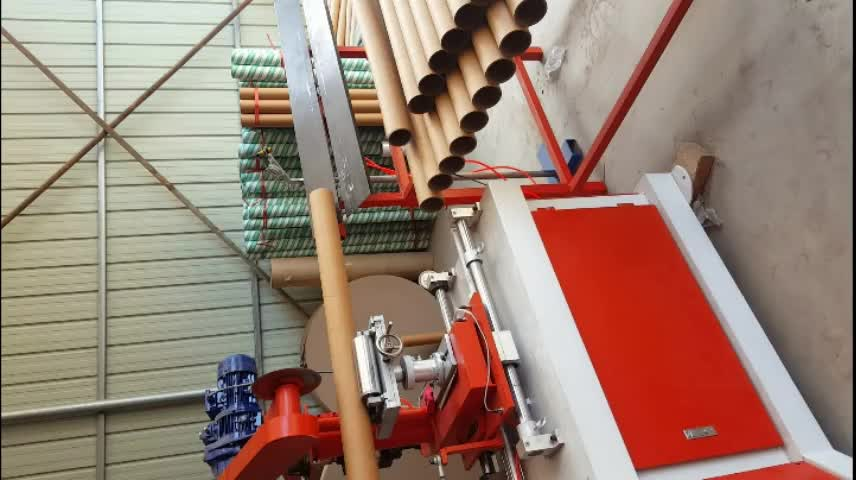 Automatic Spiral Paper Tube Making Machine Toilet Paper Core Making Machine